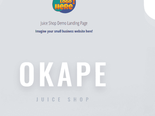 Juice Shop Demo