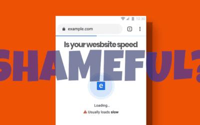 """Website Speed Test Alert – Battle Google's Public """"Badge of Shame"""""""